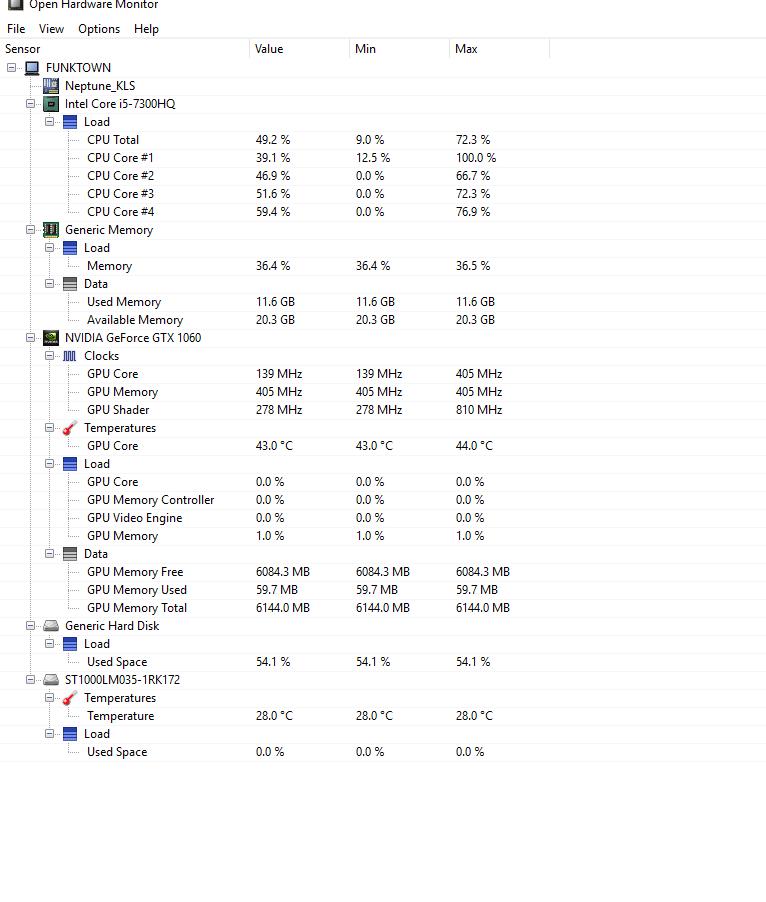 fan speed not showing · Issue #1042 · openhardwaremonitor