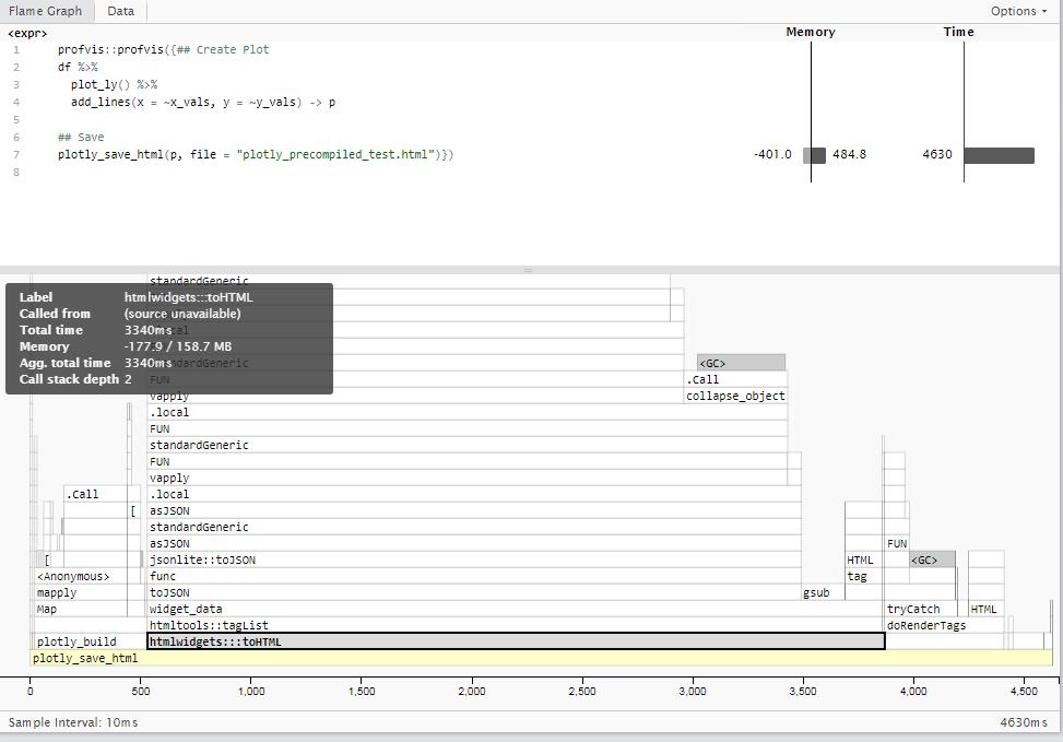Plotting large data sets · Issue #1104 · ropensci/plotly