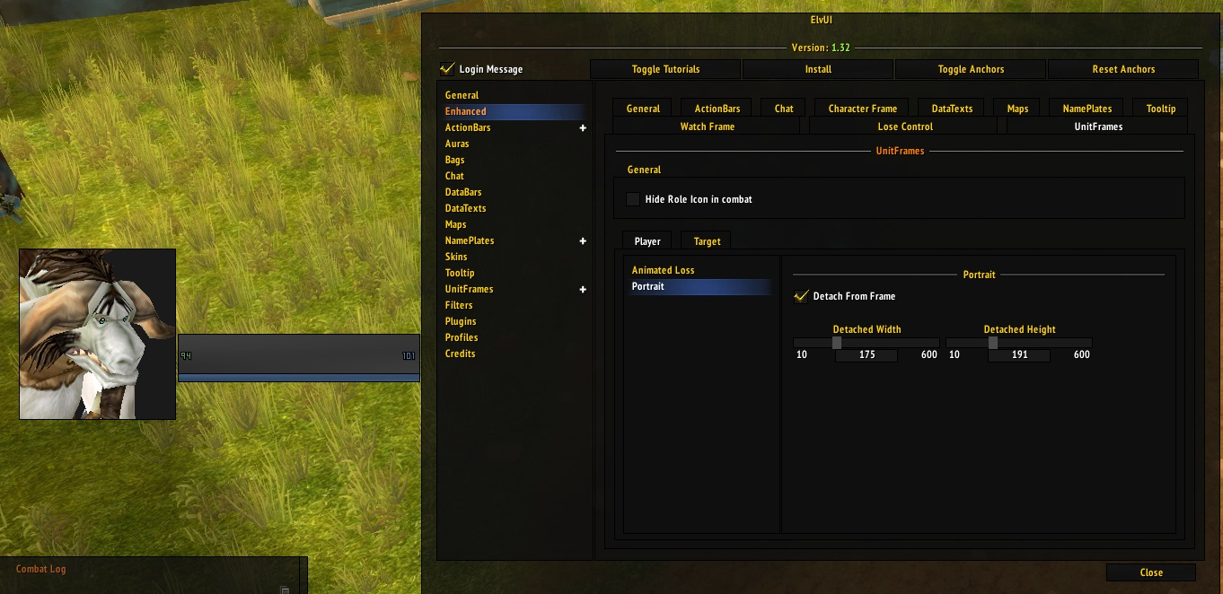 Feature Request] Add support to rescale the player and target ...