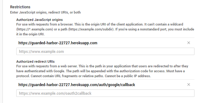 auth/google/callback timeout issue · Issue #13
