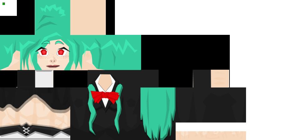 скины на майнкрафт 1.7.10 аниме персонажей #1