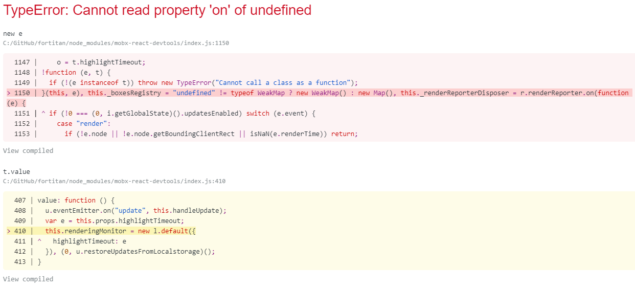 Cannot read property 'on' of undefined · Issue #117 · mobxjs