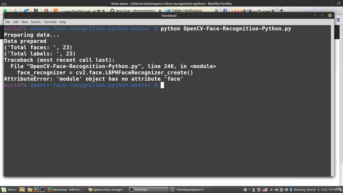 I have this error · Issue #8 · informramiz/opencv-face-recognition