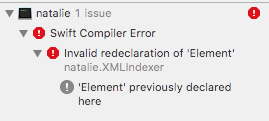 Build failure on macOS 10 13 with Xcode 9 (swift 3 2