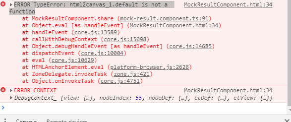 Angular 5 error: html2canvas_1 default is not a function