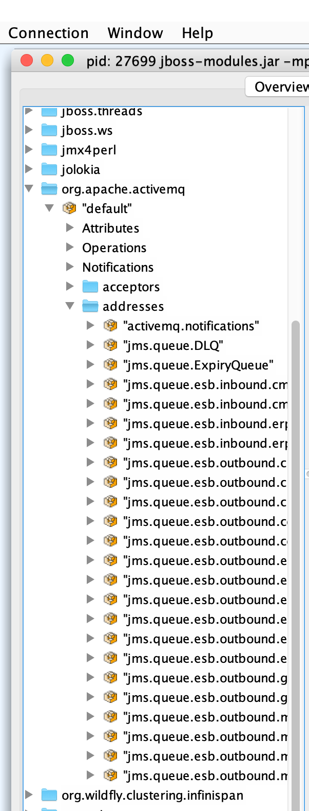 ActiveMQ plugin - strange contents of treeview · Issue #75