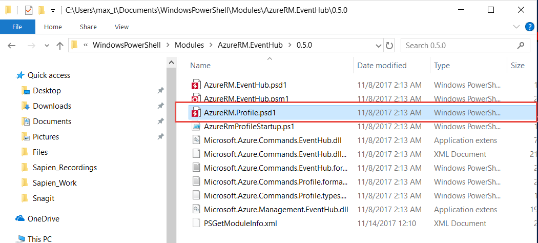 Issues with AzureRM Profile - Cmdlets won't work  · Issue