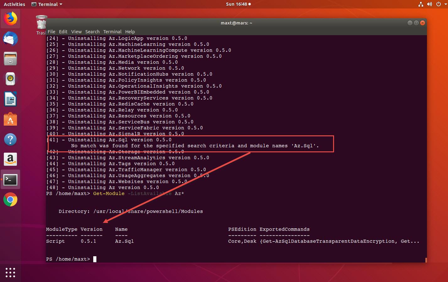 Uninstall-AllModules - won't uninstall all dependencies due