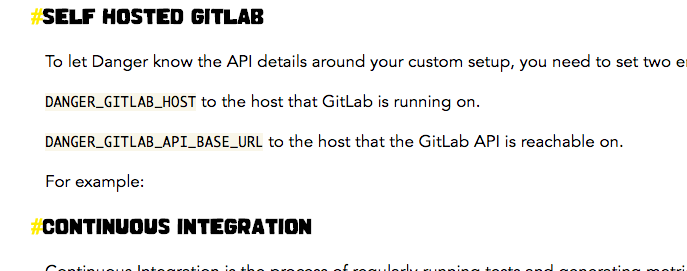 GitLab instructions difficult to follow · Issue #865 · danger/danger