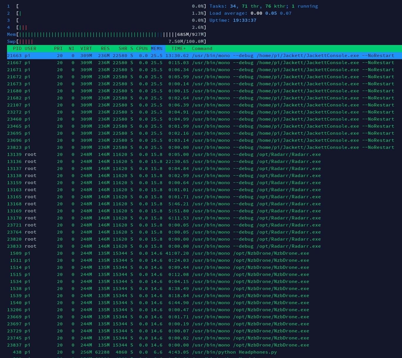 Memory Leak · Issue #1580 · Radarr/Radarr · GitHub