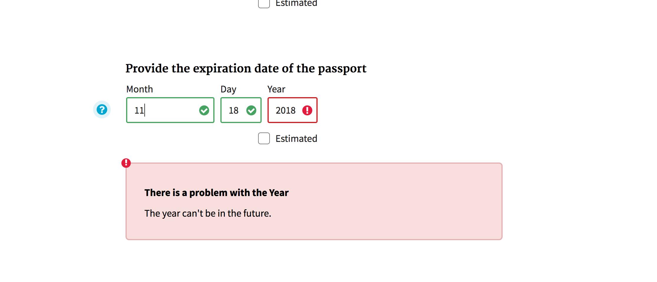 Passport expiration date in Australia