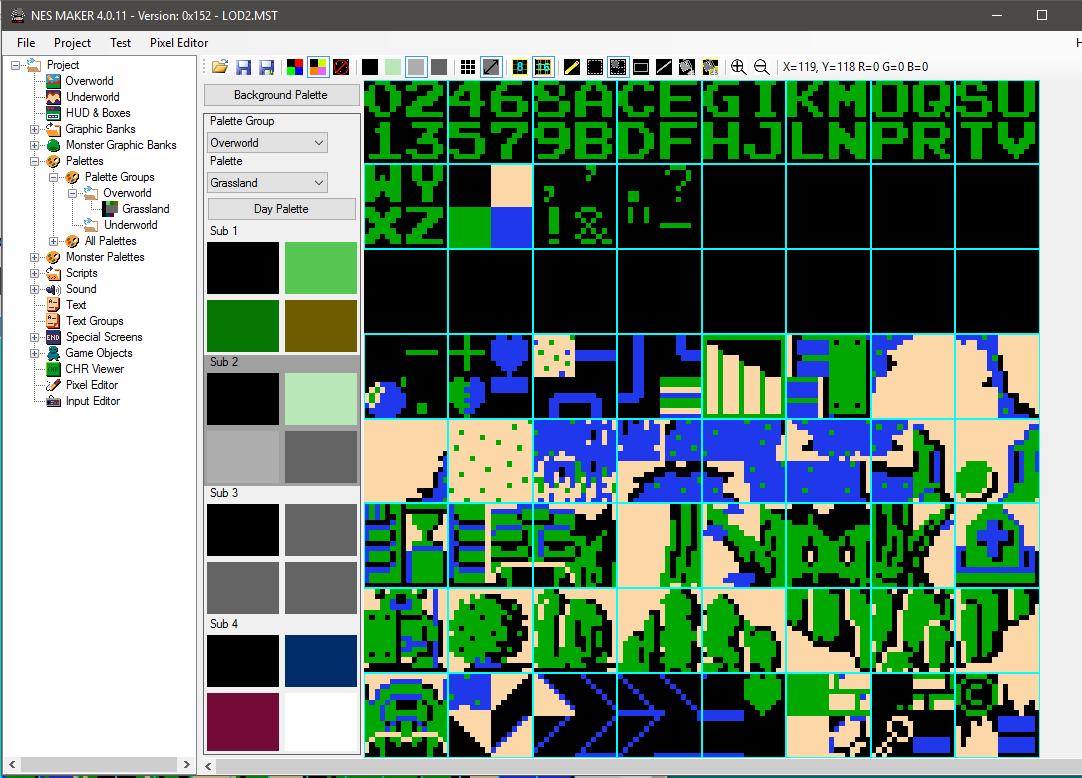 02) Create Background Tiles · nroflmao/NesMakerHelp Wiki · GitHub