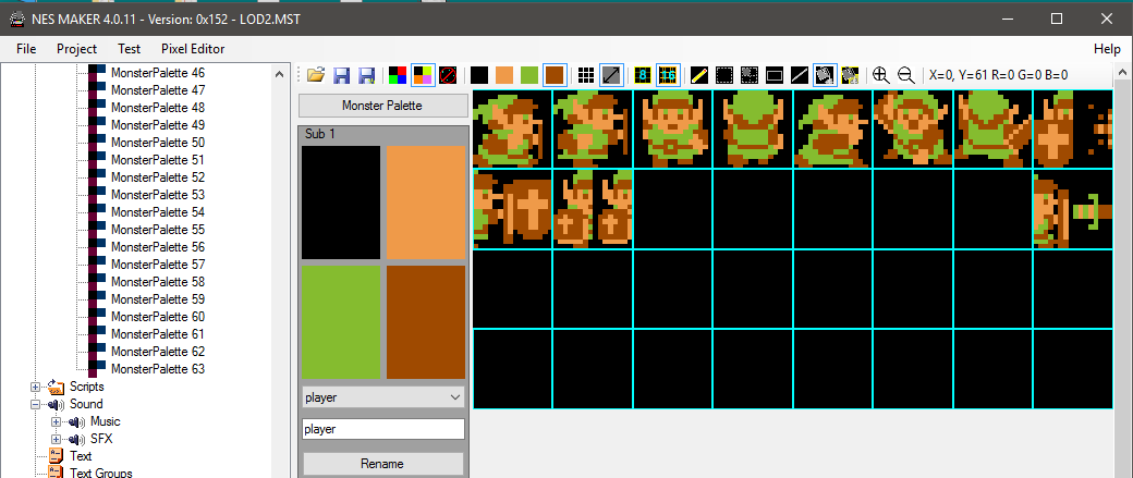 08) Creating Game Objects · nroflmao/NesMakerHelp Wiki · GitHub