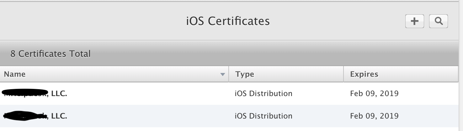 Gym Distribution Certificate Nightmare Two Different Apps Try To