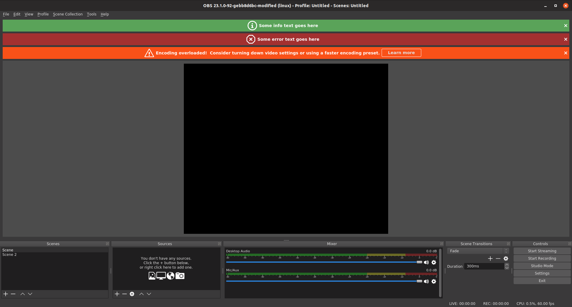 Desktop Audio Obs