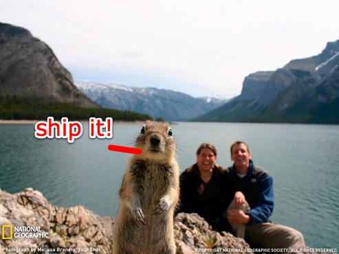 Shipit Squirrel