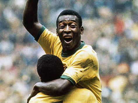 Pele's Leap of Joy