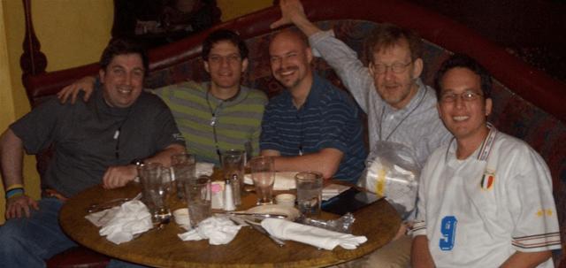Eric Kemp, Miguel De Icaza, Jon Galloway, John Osborn, Me