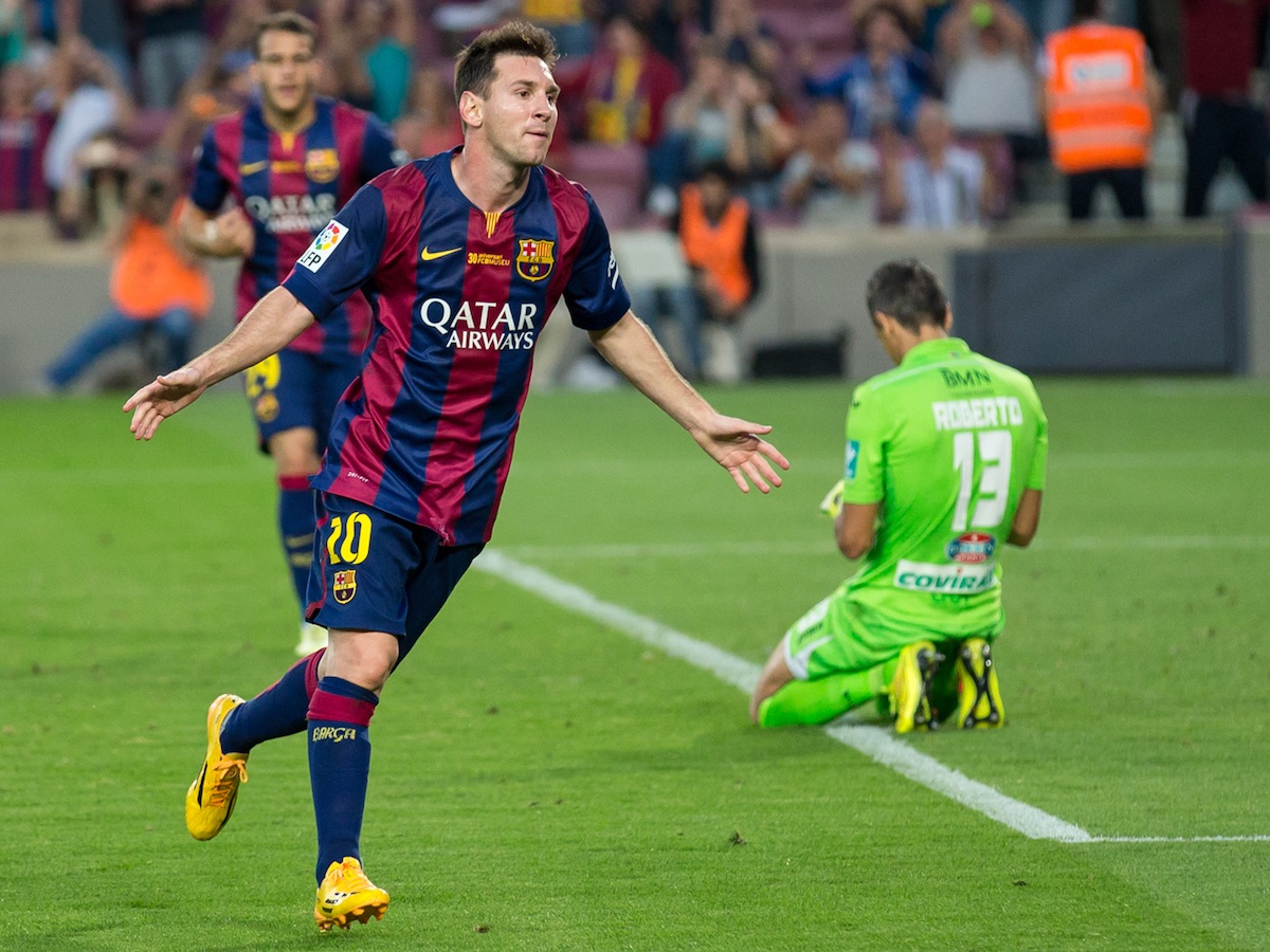 Image of Leo Messi by Luis Salas via Wikimedia Commons cc-by-2.0