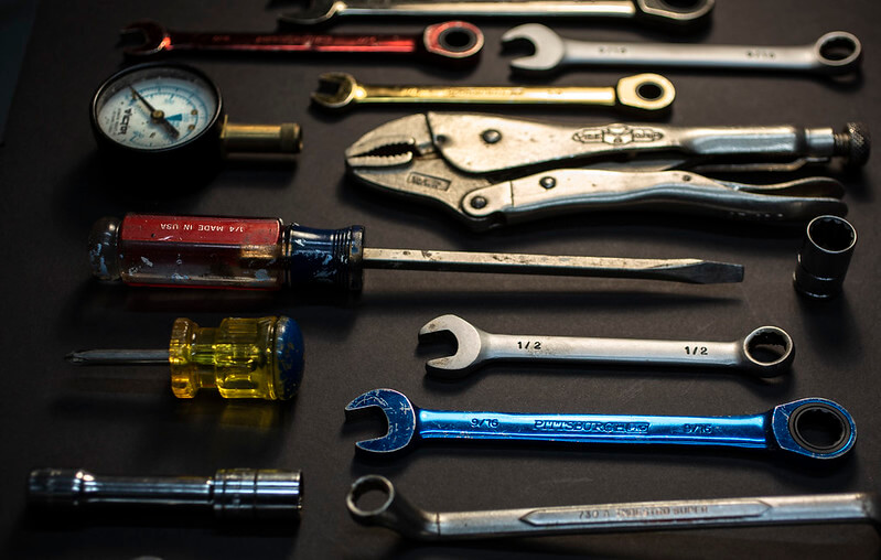 Image of tools - by Robert Couse Baker - CC BY 2.0