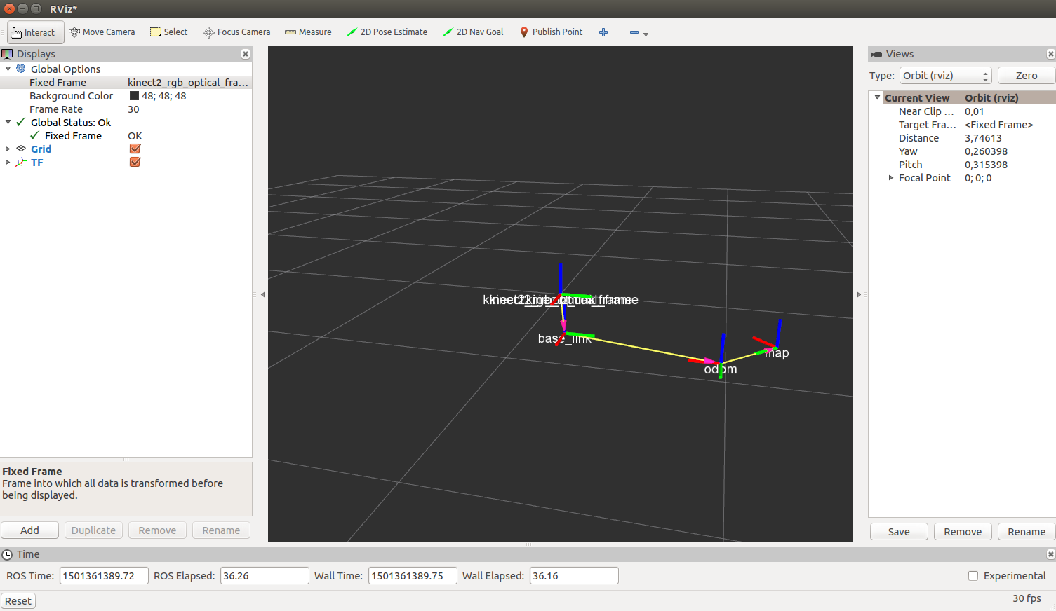 3D position of objects using new Kinect · Issue #15