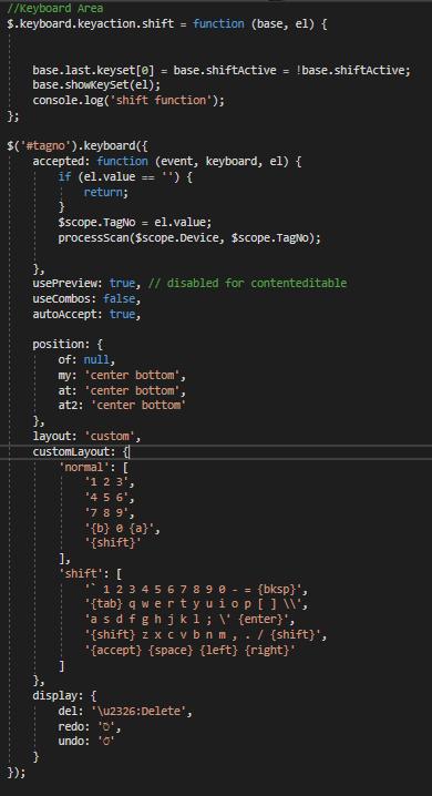 Change CSS based on Keyboard · Issue #667 · Mottie/Keyboard