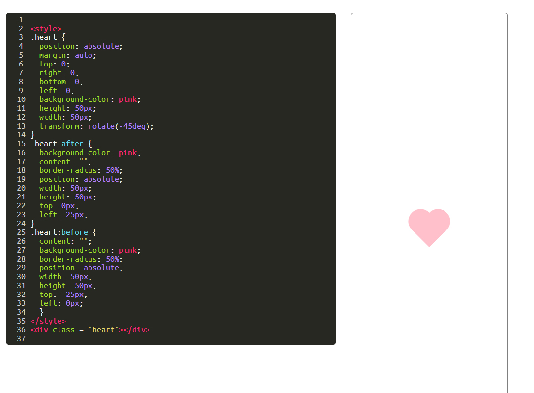 Challenge create-a-more-complex-shape-using-css-and-html has an ...