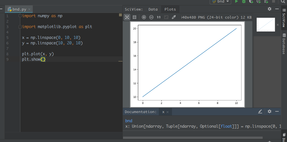 Any plan to add a Sciview like pycharm? · Issue #194