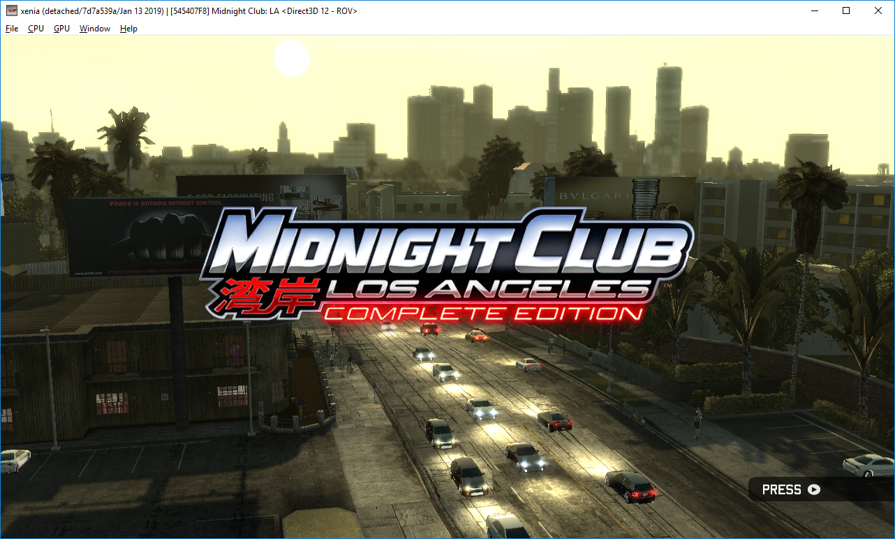545407F8 - Midnight Club: Los Angeles - Complete Edition · Issue