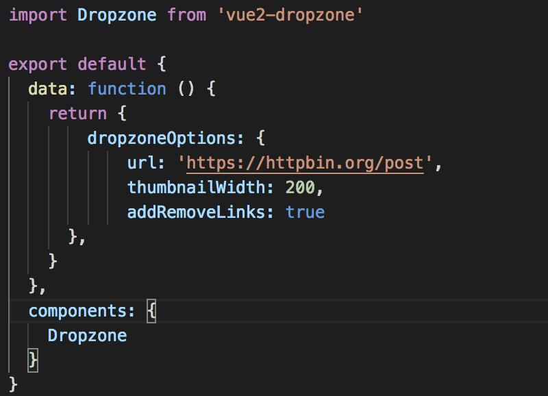 vue-dropzone - Bountysource