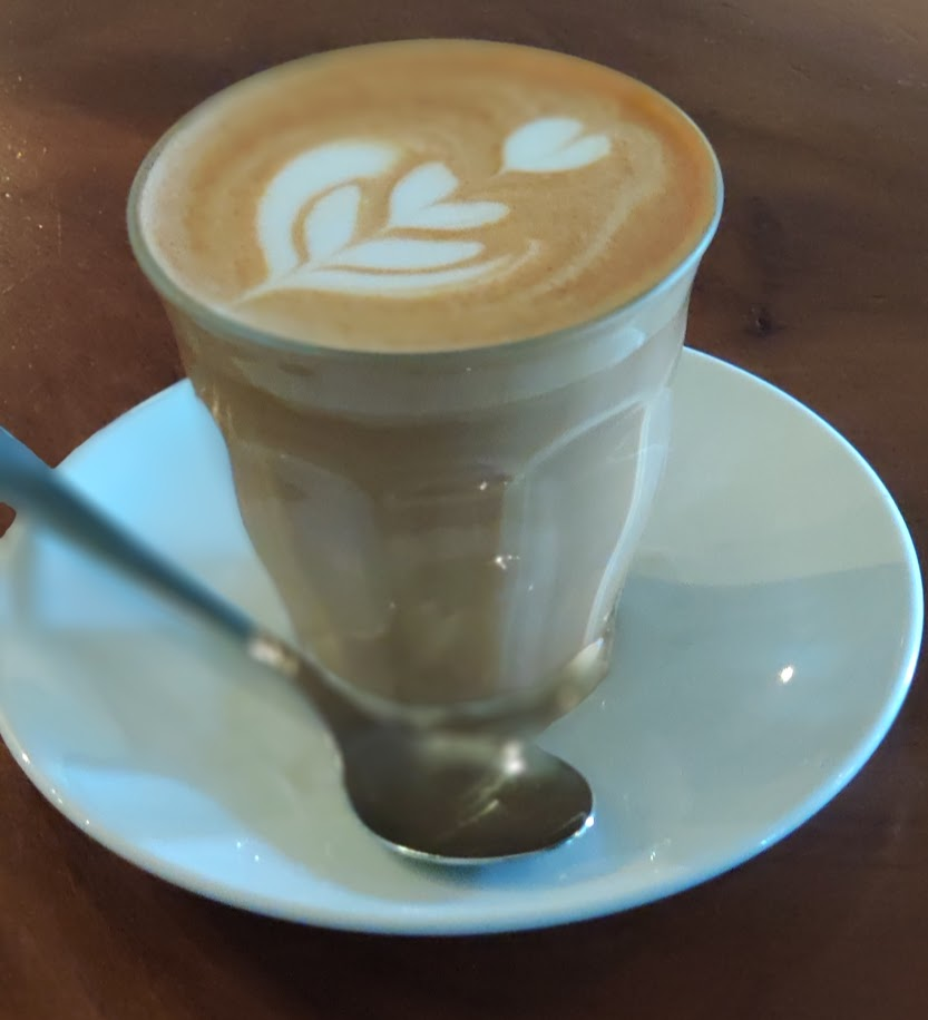 Flat White from Flock coffee
