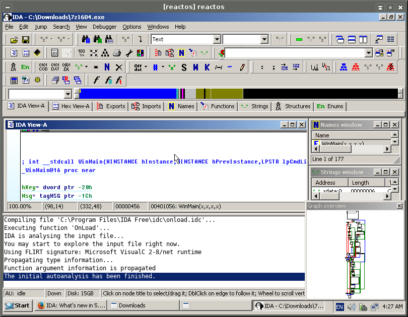 Explore possibility to create ReactOS-based template for