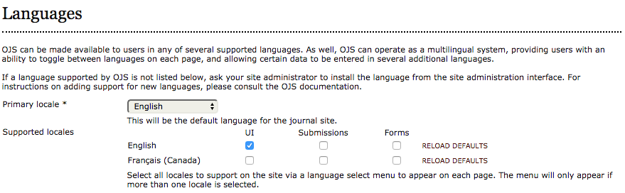 Check and fix language settings during upgrade from OJS 2 · Issue