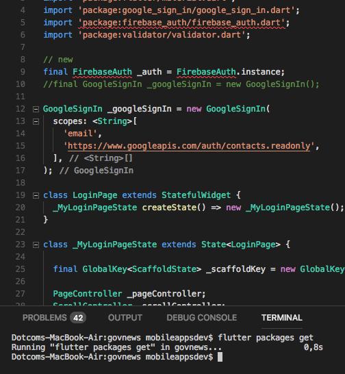 flutter packages get not working · Issue #17565 · flutter