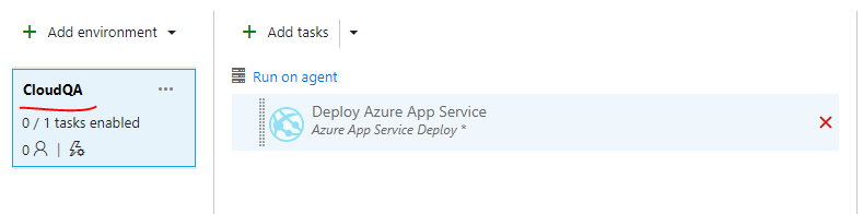 Config transform in Release when using AzureRmWebAppDeployment