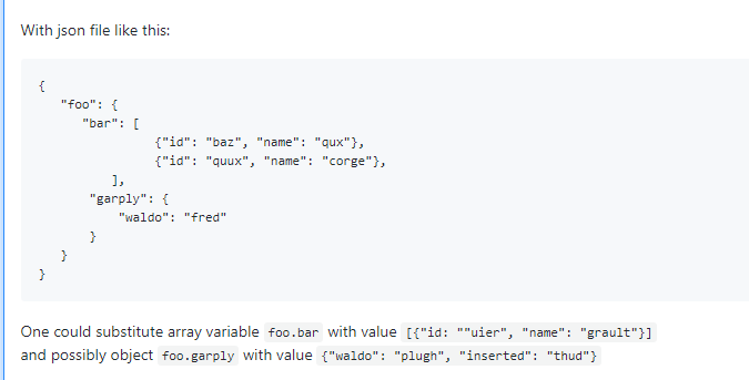 IIS Web App Deploy: JSON Variable Substitution and Variable