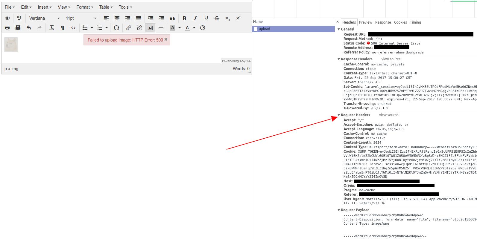 Xmlhttprequest upload file example