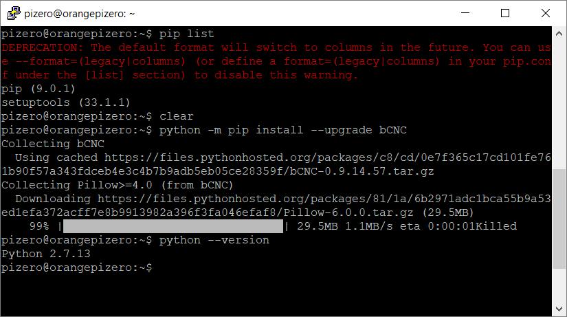 pip install pil python 3.5