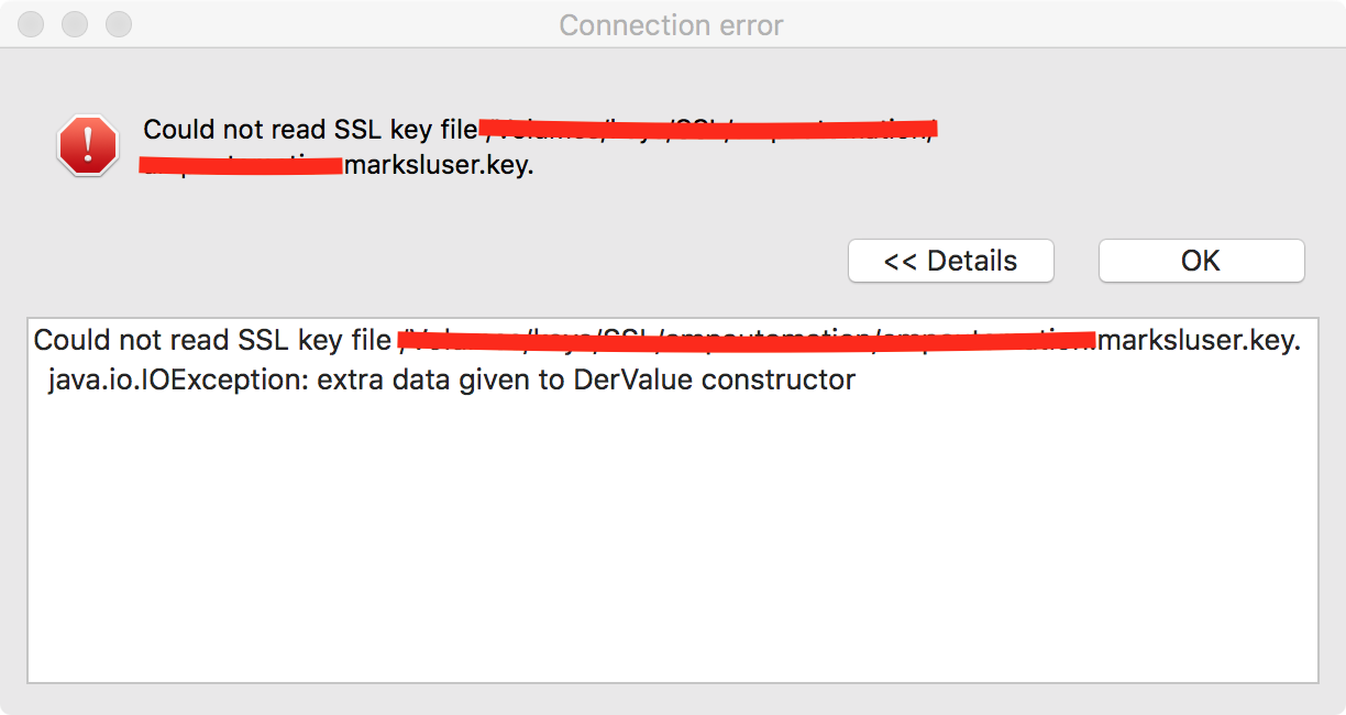 Can't connect to PostgreSQL via SSL · Issue #1835 · dbeaver