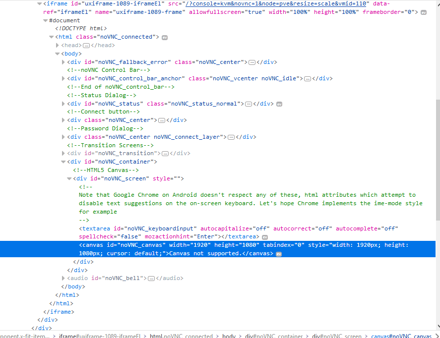 Double Mouse Pointer in Firefox · Issue #1014 · novnc/noVNC · GitHub