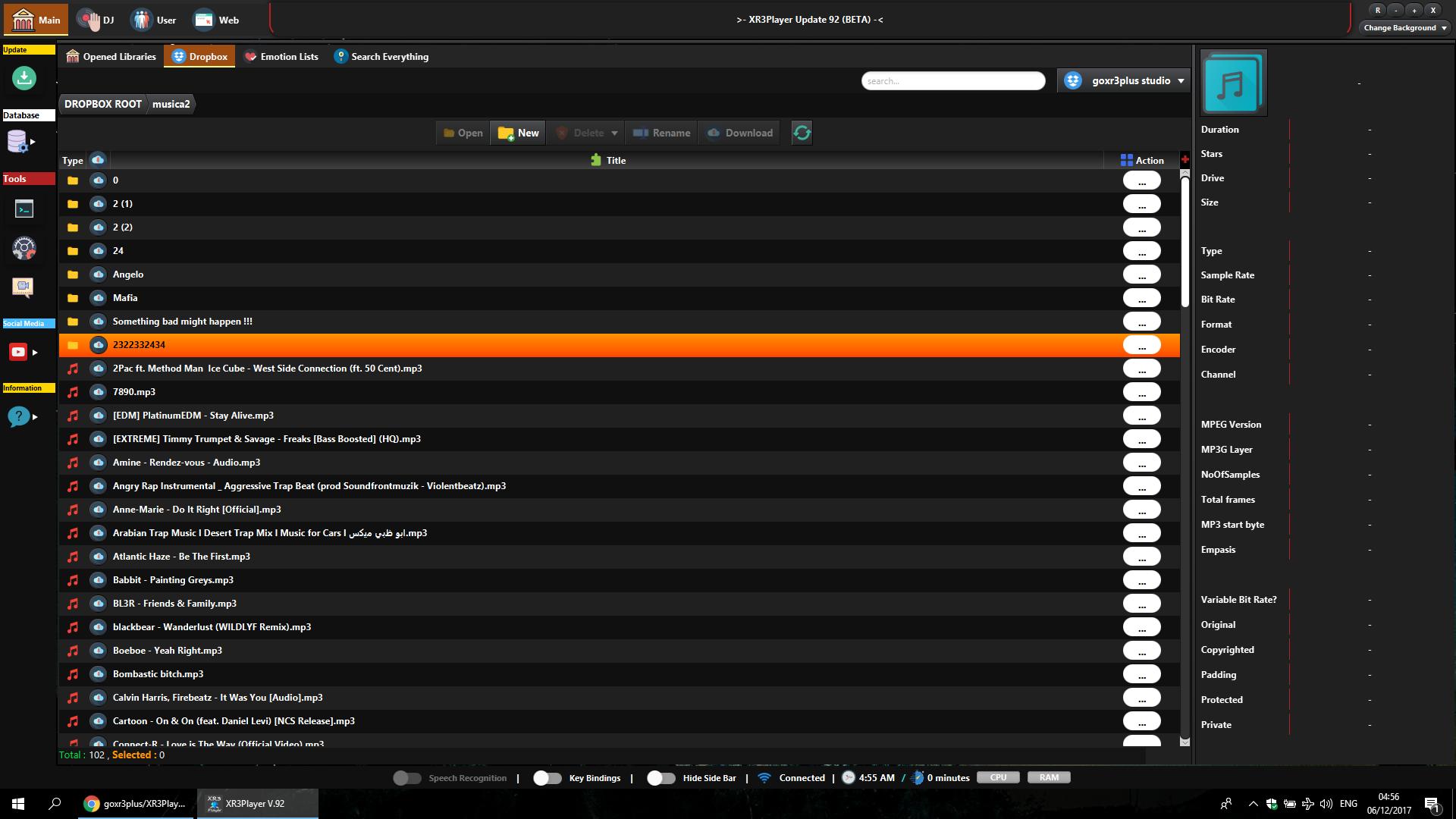 Github goxr3plusxr3player advanced and modern javafx media player dropbox access amazing visualizations baditri Image collections