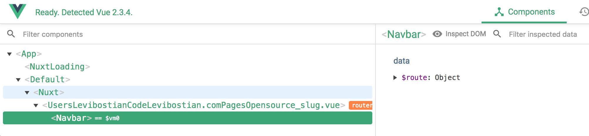 Nuxtent content pages do not allow Vuejs components before
