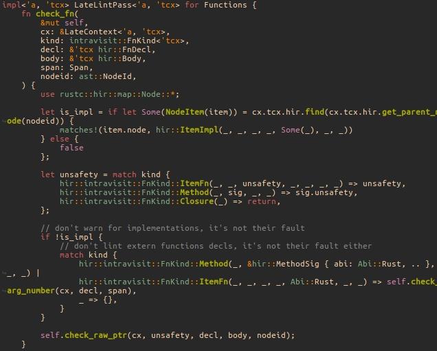 Rust Syntax Issue 185 Morhetzgruvbox Github