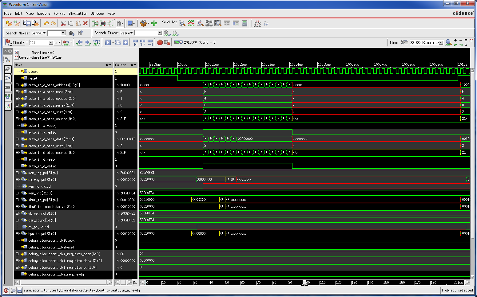 simulating verilog using cadence incisive instead of VCS