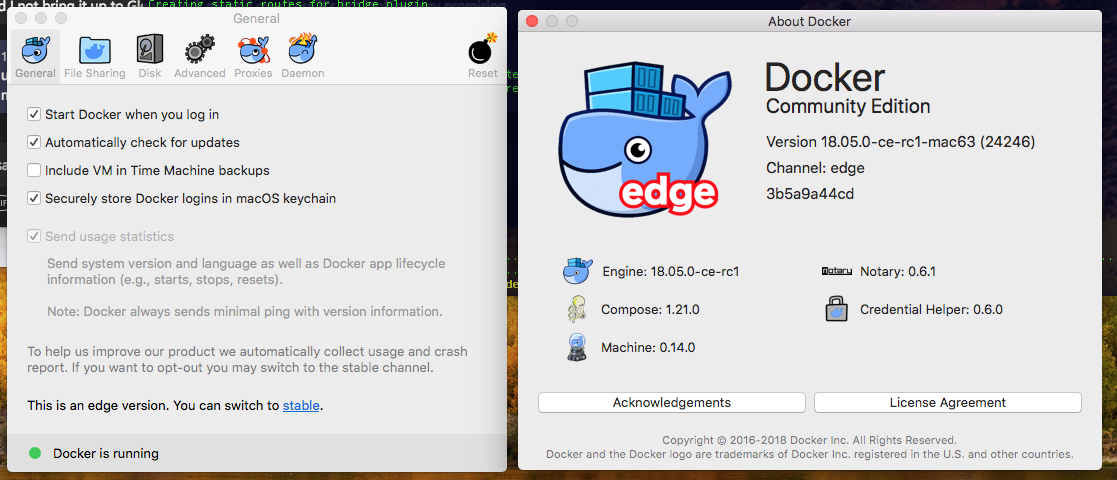 Software For osX Discover all options on Docker Desktop for Mac