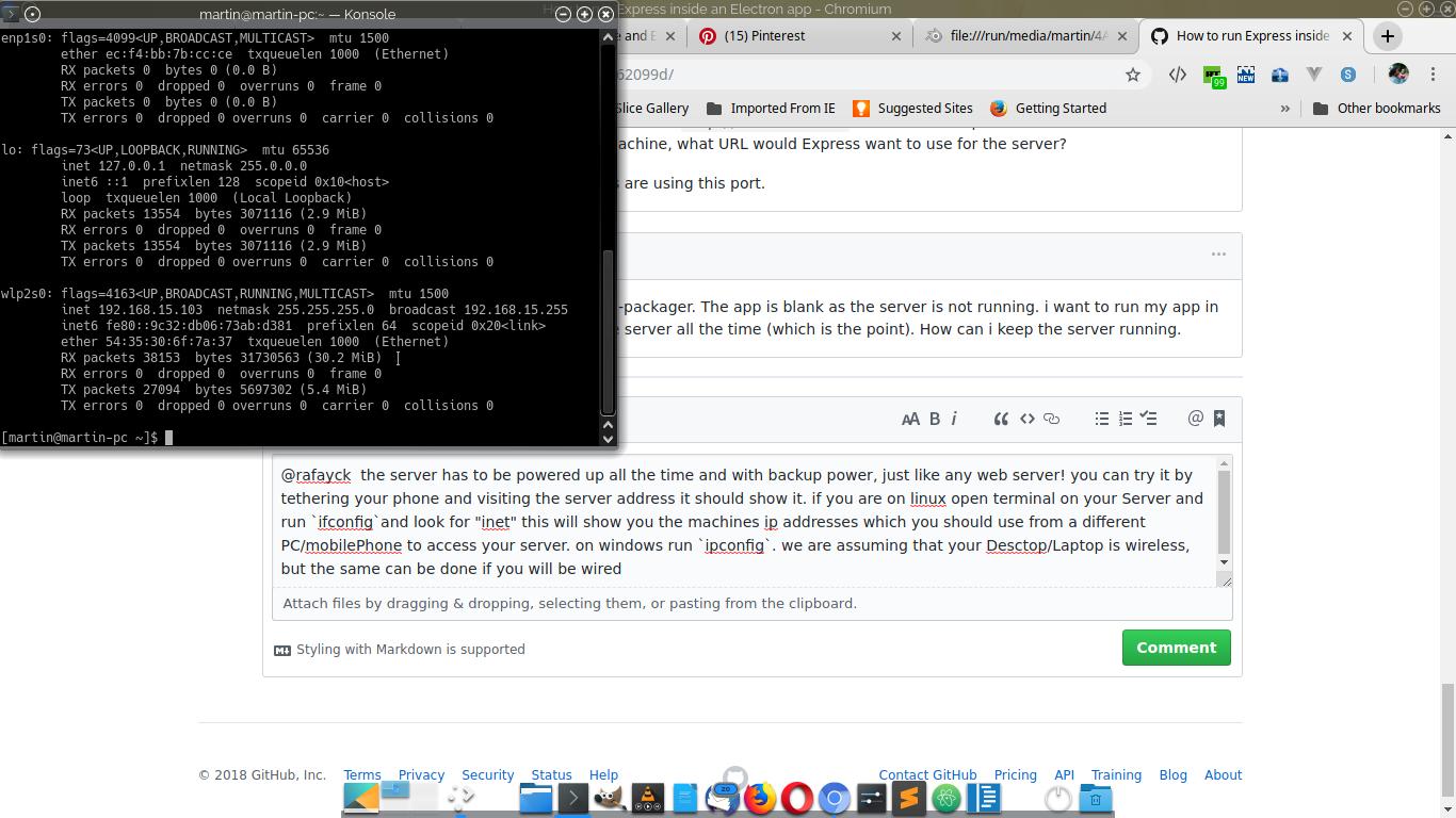 How to run Express inside an Electron app · GitHub