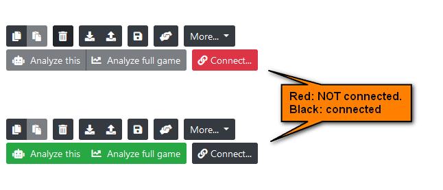 Connection status