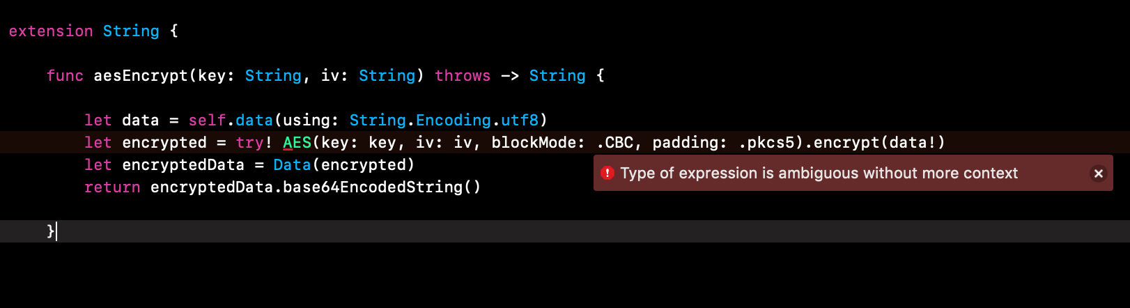Can anyone convert to Swift 4 this extension  Unable to