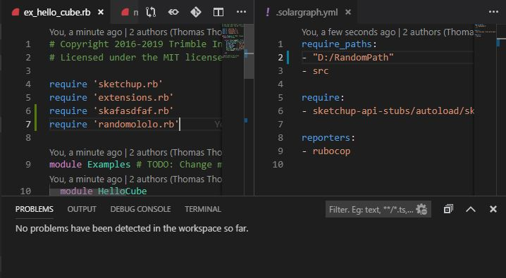 in `require': cannot load such file -- extensions rb